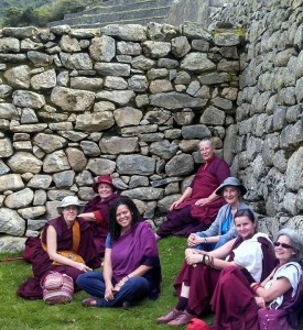 In Machu Picchu photo courtesy of Zopa