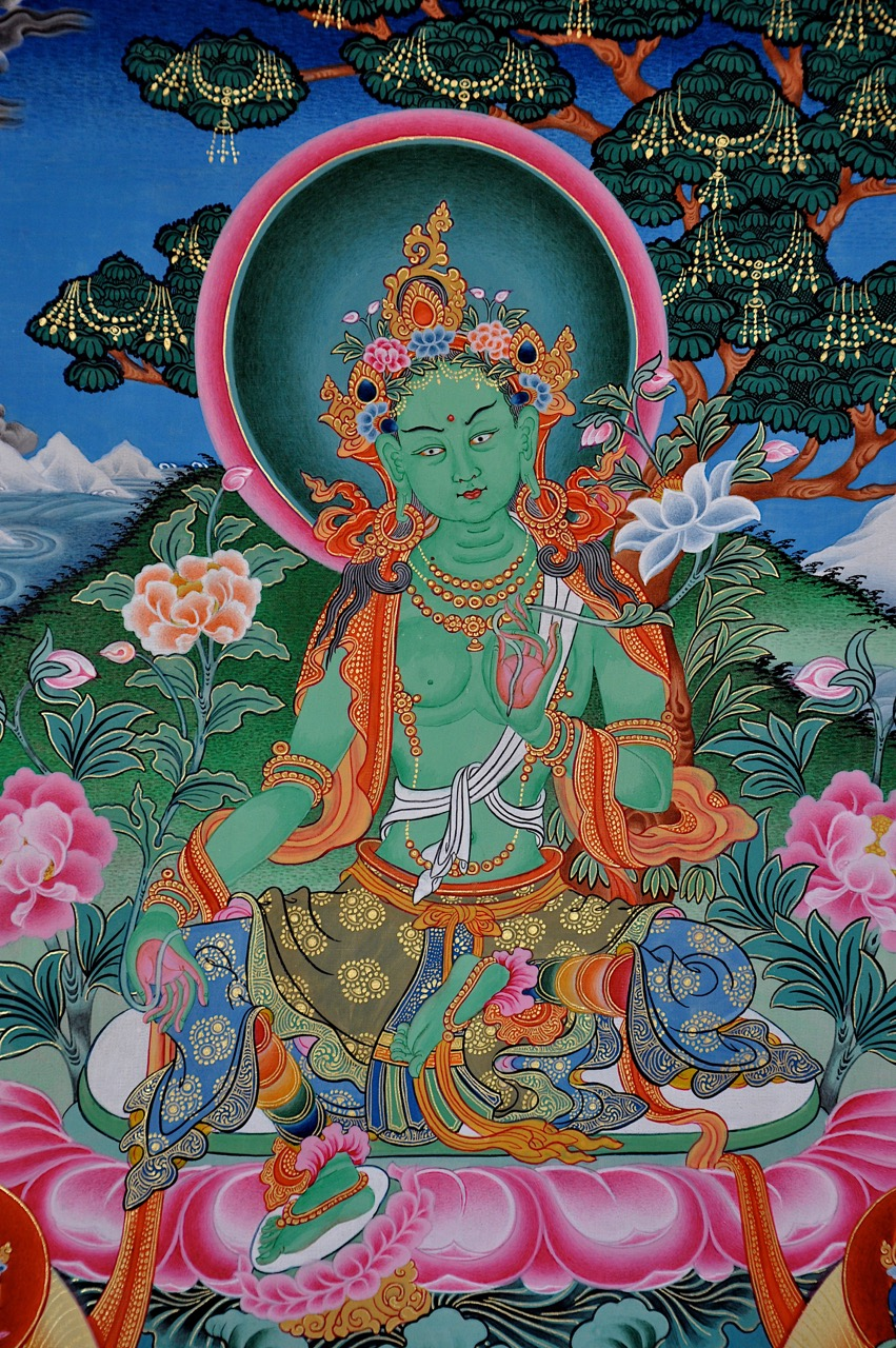 Green Tara 3: Winter Retreat Session 1: Finding Safety Through Mother